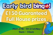 Play online Bingo 80 game