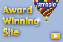 Tombola is an award winning site