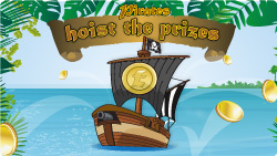 pirates hoist the prizes