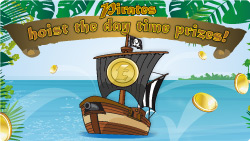 pirates hoist the day time prizes